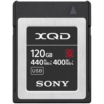 XQD 120GB Sony G-Series Media Card Rental