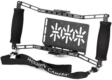 Wooden Camera Single Monitor Cage  Handgrips Rental