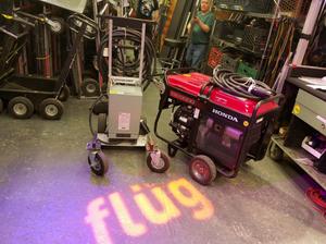 Rent Generators and Trucks | Flüg Lighting, Grip, and Electrics Equipment Rentals NYC