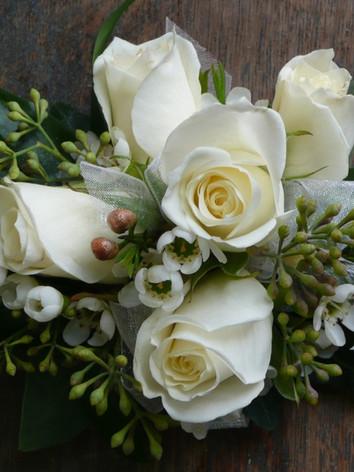 eucalyptus corsage