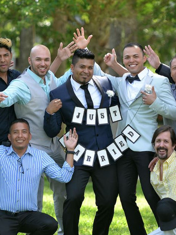 Grooms and their men