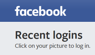 Facebook Recent Logins feature | Tech | Hartley Productions | hartleyproductions.uk