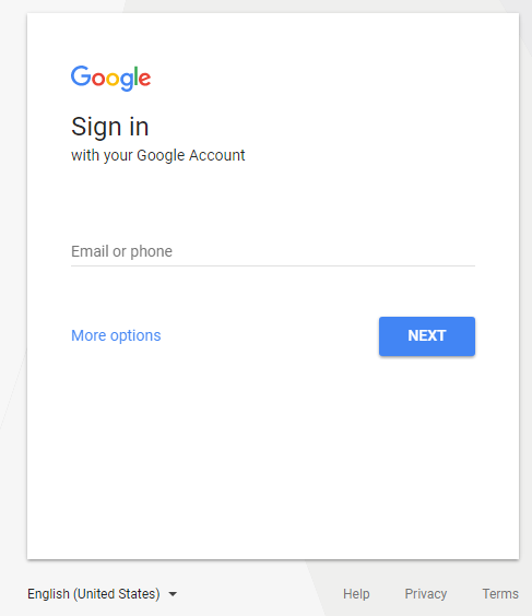 New sign-in page for Google | News | Tech | hartleyproductions.uk