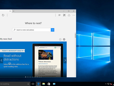 Microsoft Edge replaces the Reader app for viewing PDF documents
