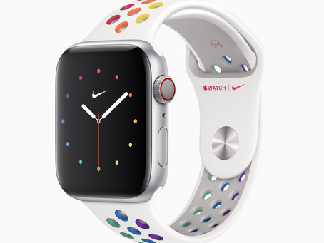 Apple announces new bands and watch faces for Apple Watch to celebrate Pride