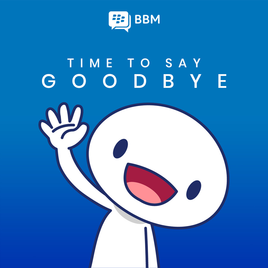 BlackBerry Messenger (BBM) is shutting down in May this year