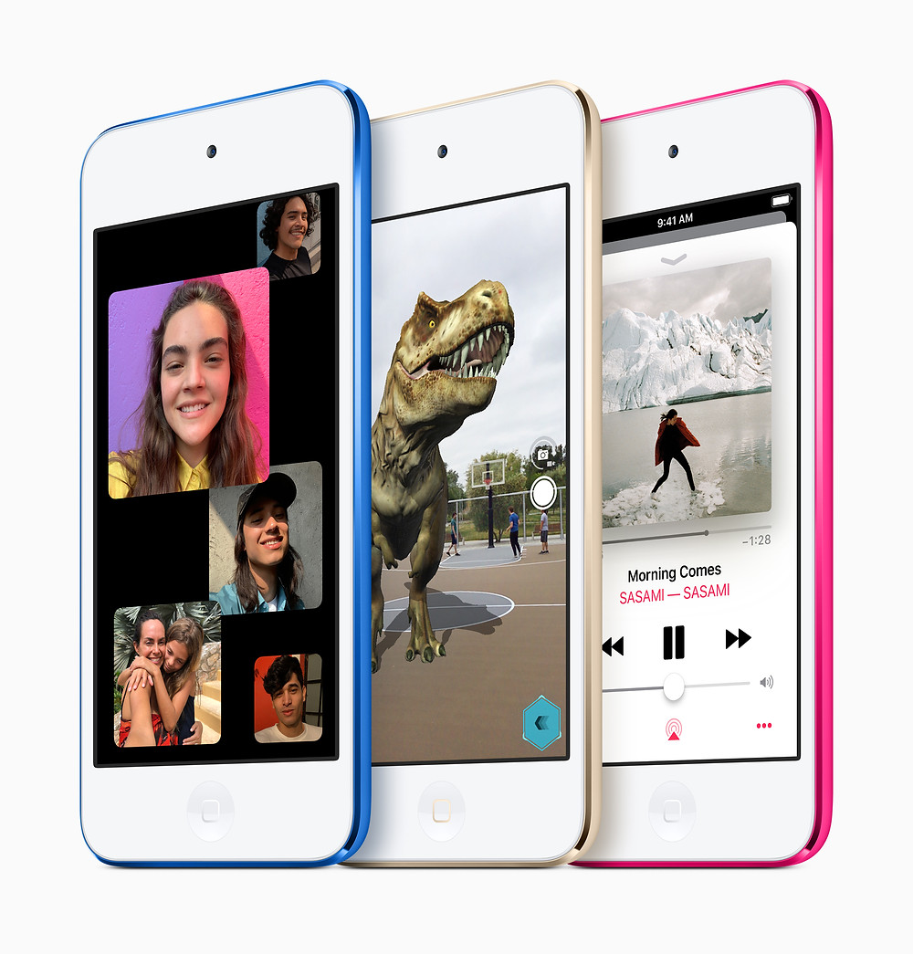 The new Apple iPod touch (2019)