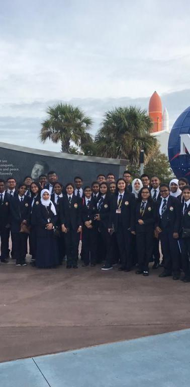 Grupo no Kennedy Space Center