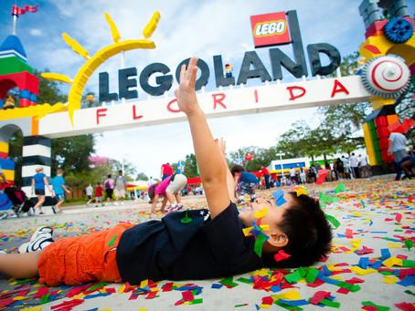 Crianças Grátis na Legoland Florida acompanhadas de um adulto pagante!