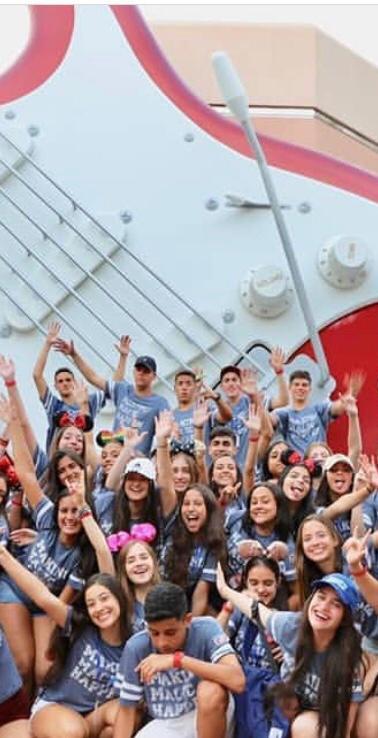 Grupo no Disney's Hollywood Studios
