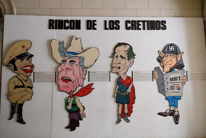 """""""פינת המפגרים"""" או: מה חושבים שלטונות קובה על הנהגת ארה""""ב לאורך השנים?"""