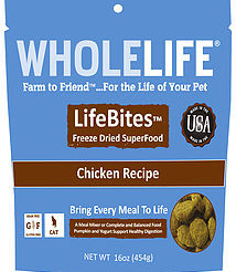 LifeBites by Wholelife Pet Products  - A New Take On Freeze-Dried Foods
