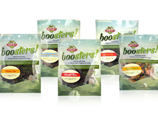 NOVEL TREATS FROM BOO BOO'S BEST GREAT FOR PETS WITH FOOD ALLERGIES