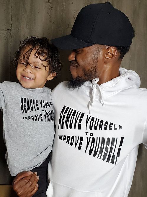 Remove Yourself To Improve Yourself (T-Shirt)