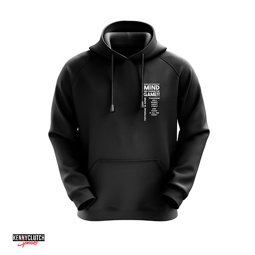 "When We Change The Mind We Change The Game""Hoodie"""