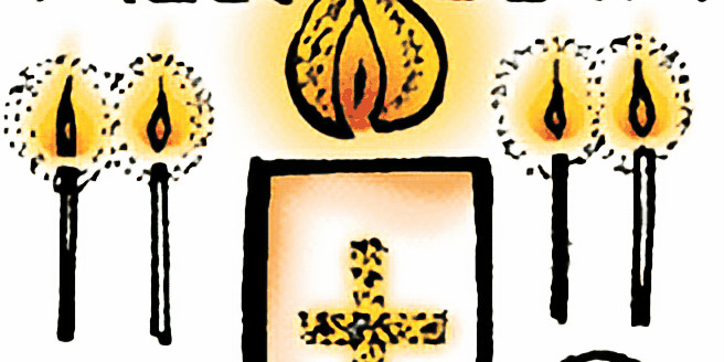 Easter Vigil worship service