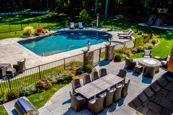 Pool and Entertaining Area Acton