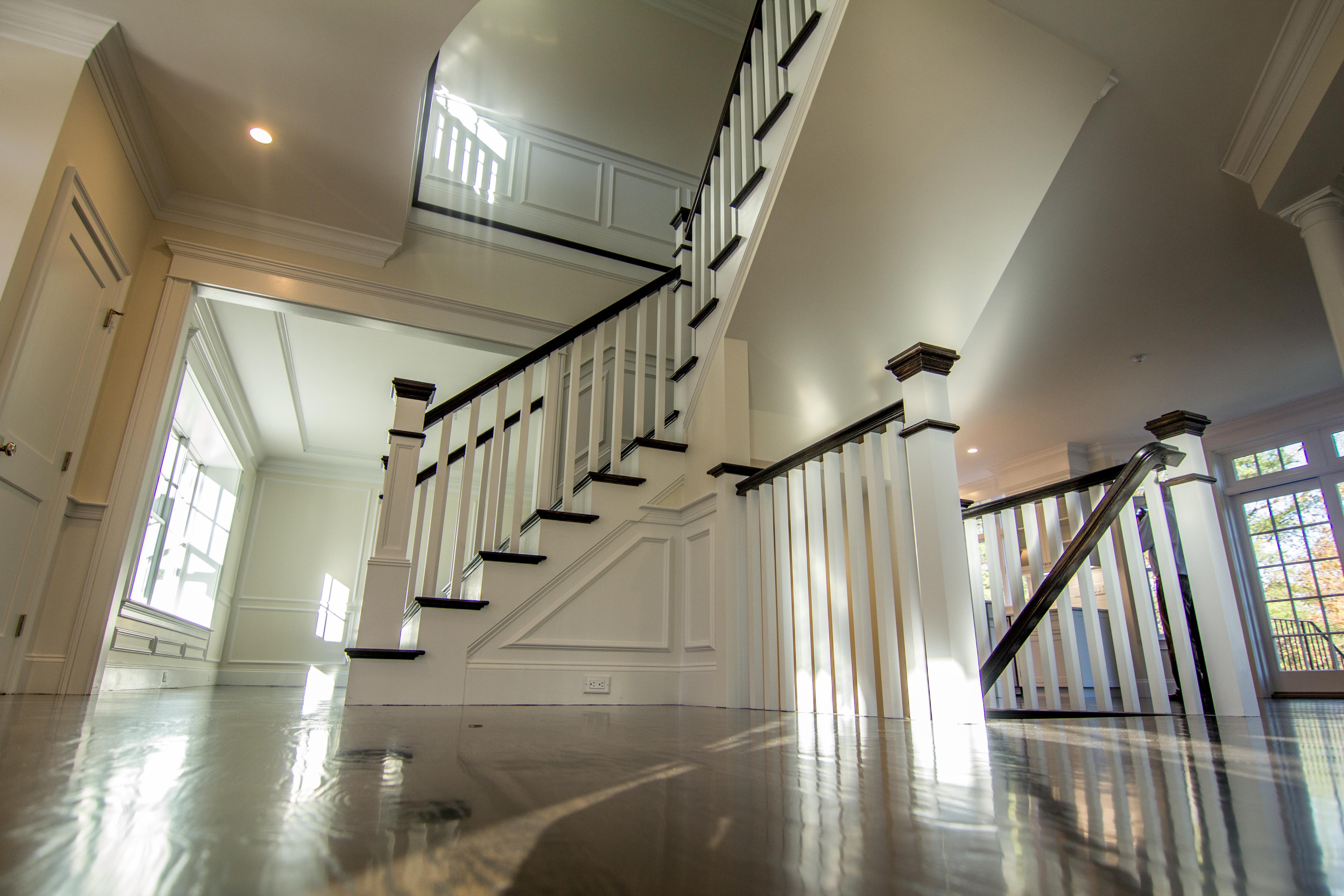 Foyer Stair Wayland