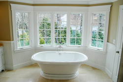 Soaking Tub In Marble Bath Wayland