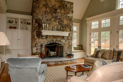 Fieldstone Fireplace Acton