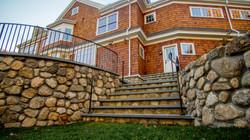Weston Rear Patio Stair