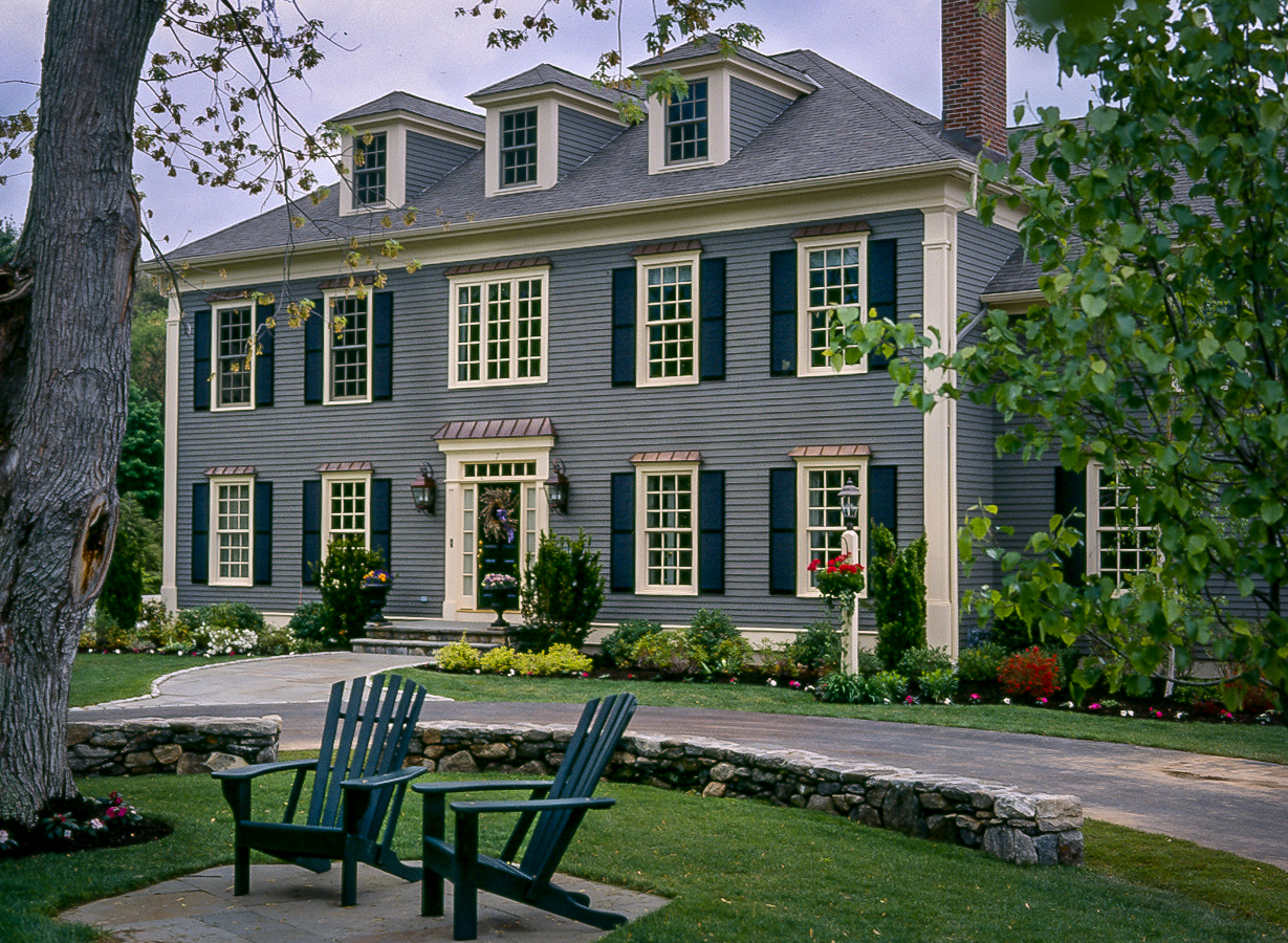Wayland Custom Colonial