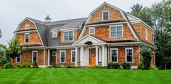 Sudbury Cedar Shingle Custom Home