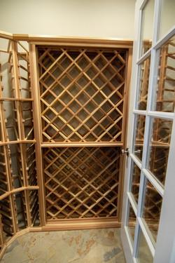Luxury Home Wine Closet