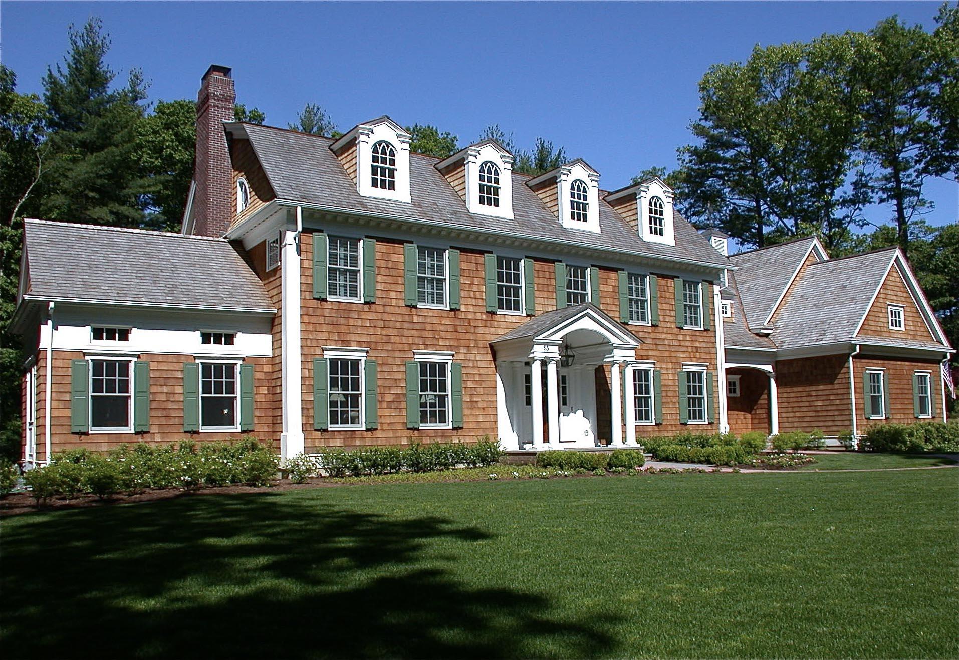 Sudbury Gambrel Colonial