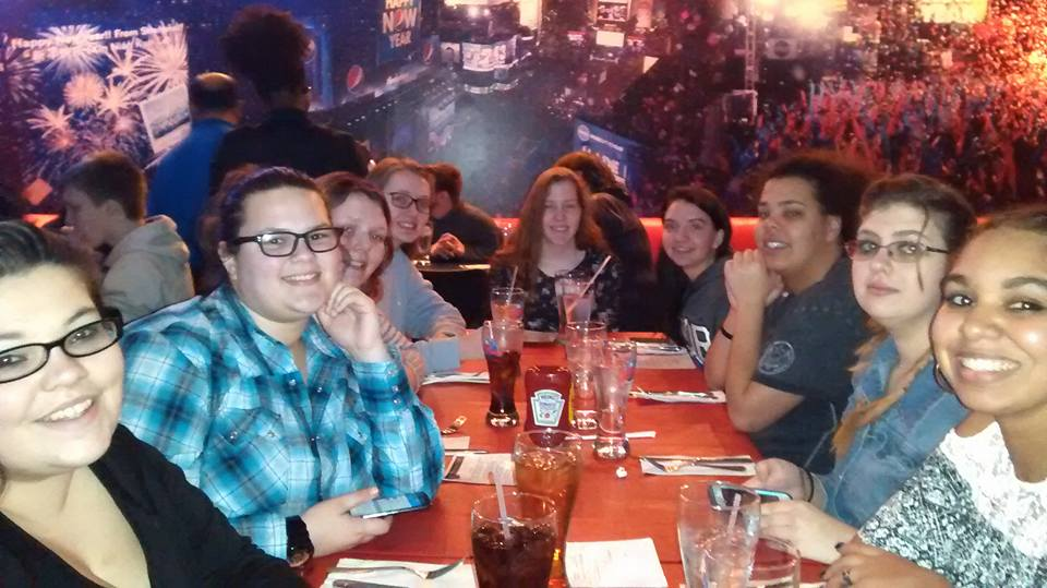 Dinner at Planet Hollywood in Times Square