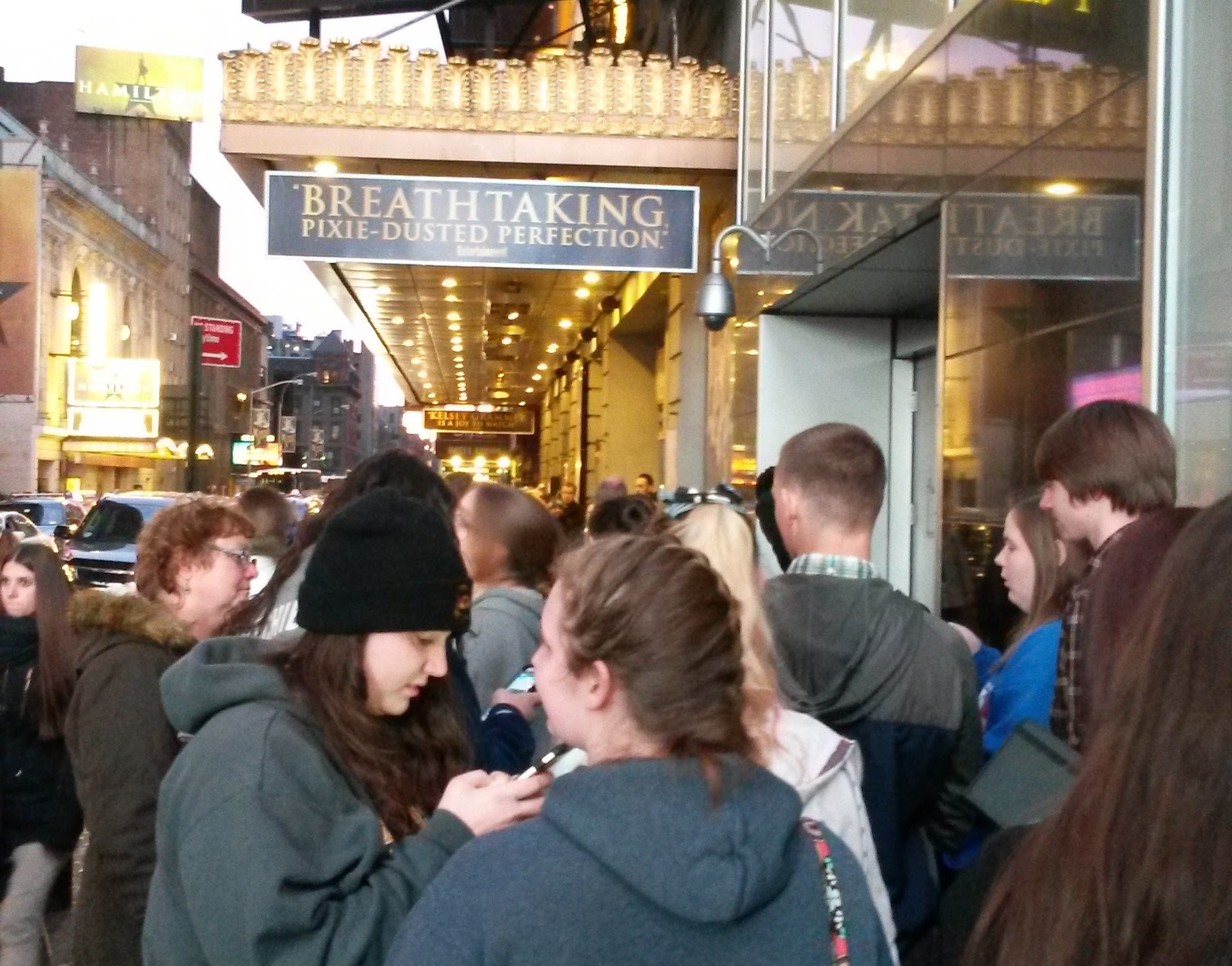 Ready to head in to Finding Neverland on Broadway