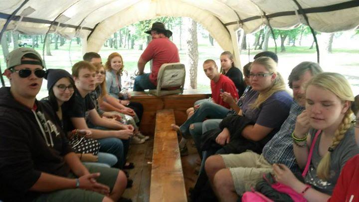 Blennerhassett Island carriage ride