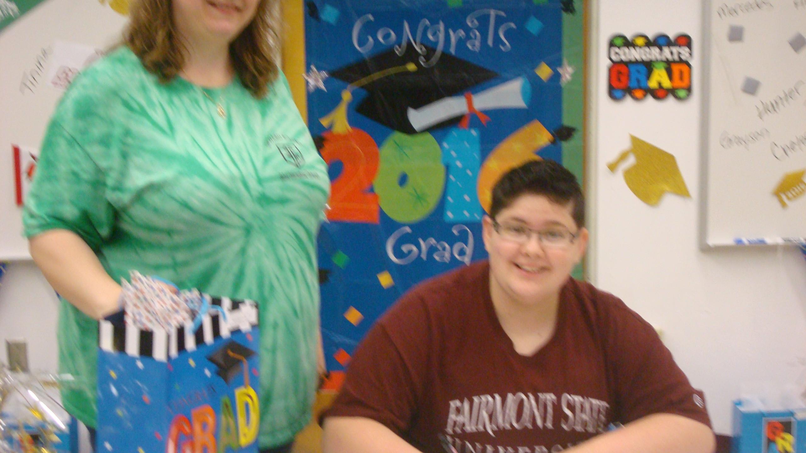 Grayson plans to attend Fairmont State University