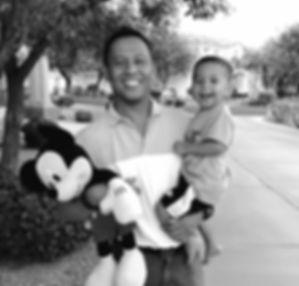 Patrick Calalang with Son Smiling Gilbert AZ