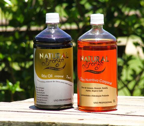 Kit Óleos Bronzeador Nutritivo e Mix Oil 7 em 1