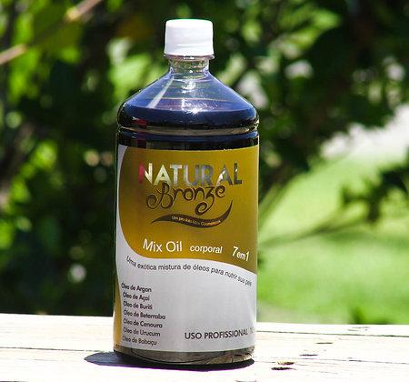 Óleo Bronzeador Mix Oil 7 em 1  1Lt