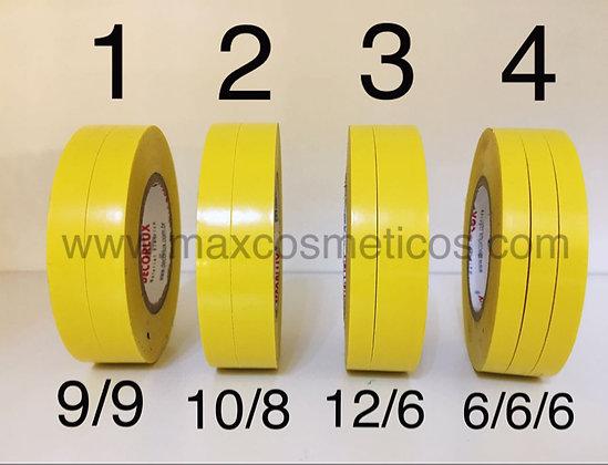 Fita cortada Amarelo 20 metros Decorlux