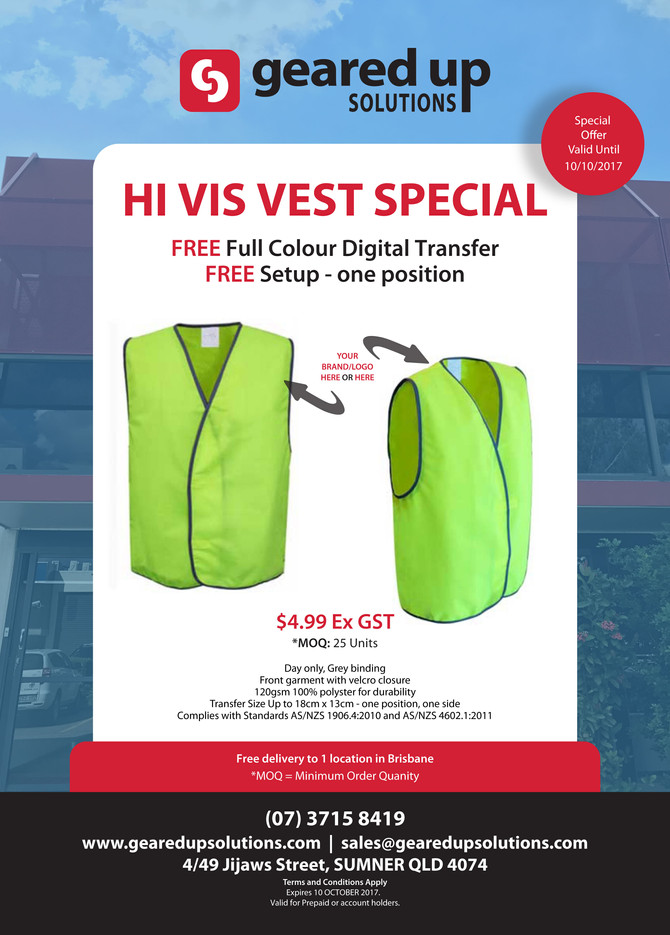 Hi Vis Vest Special