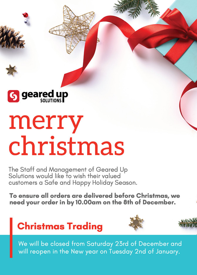 Christmas Trading Dates