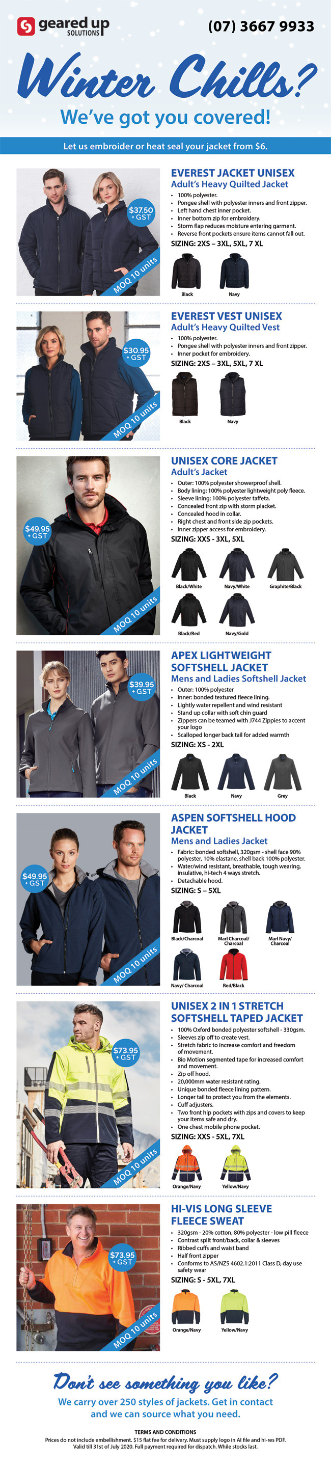 Winter Chills - We've Got You Covered!