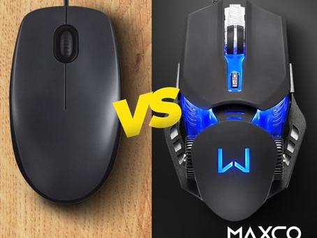 Qual a Diferença entre Mouse Gamer e o Mouse Comum?