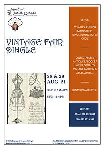 Dingle Vintage Fair Poster 2021