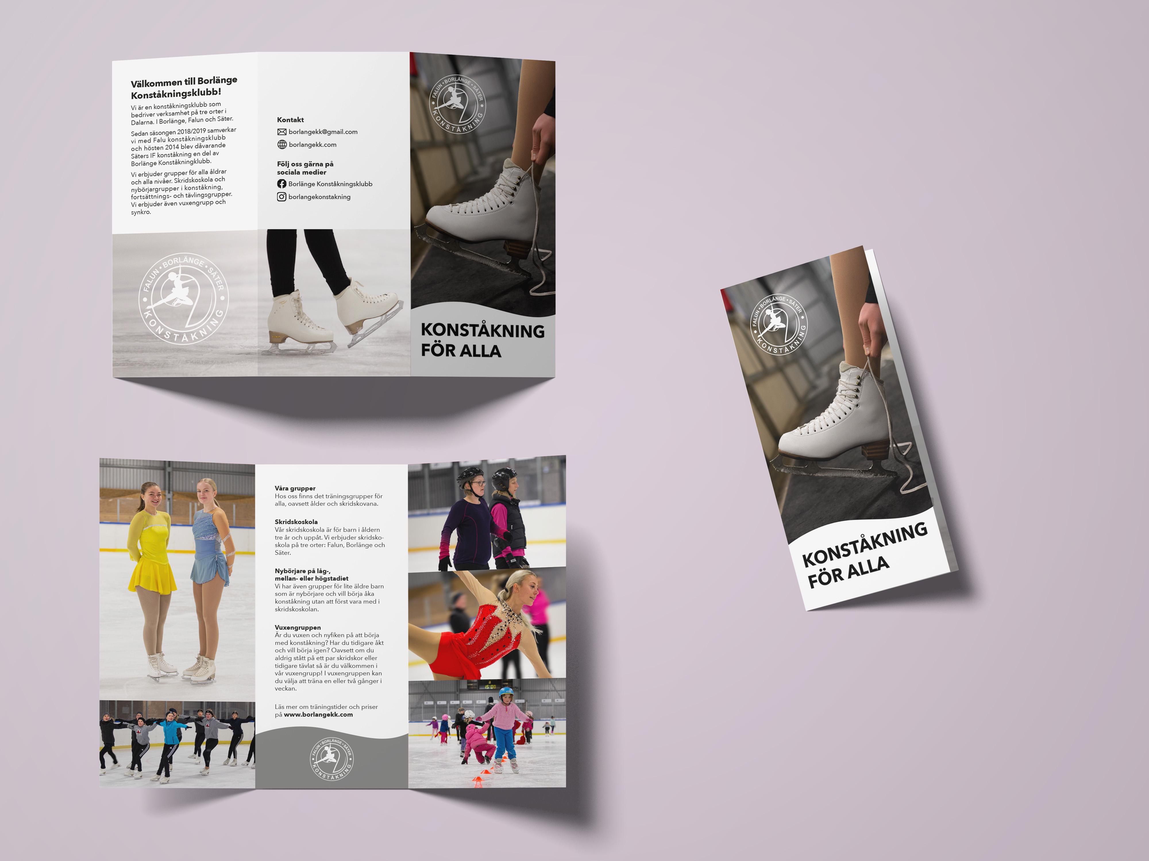 Folder för information om föreningen