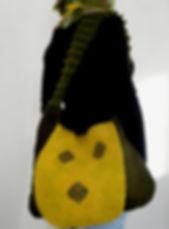 sac en laine feutrée fait main par Rasmania