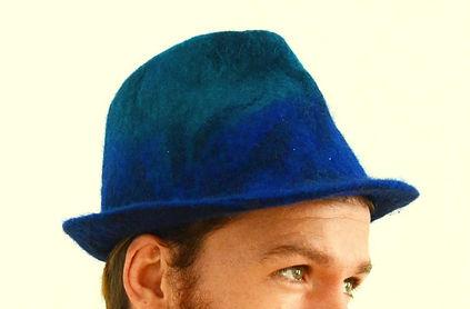 Océan, chapeau en feutre fait main par Rasmania