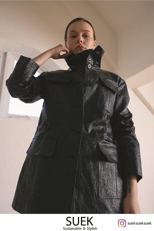 SUEK eco-leather Jacket