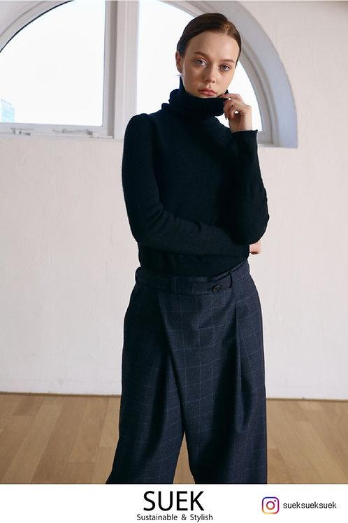 SUEK Urban plaid pants