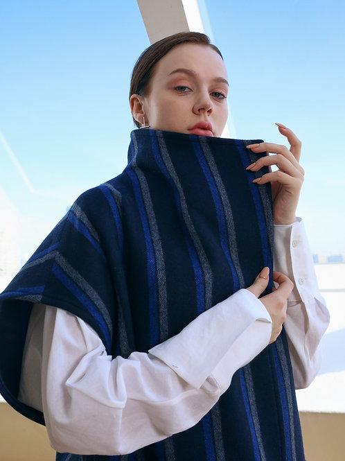 stripedia wool-vest