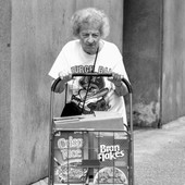Determined Cereal Lady