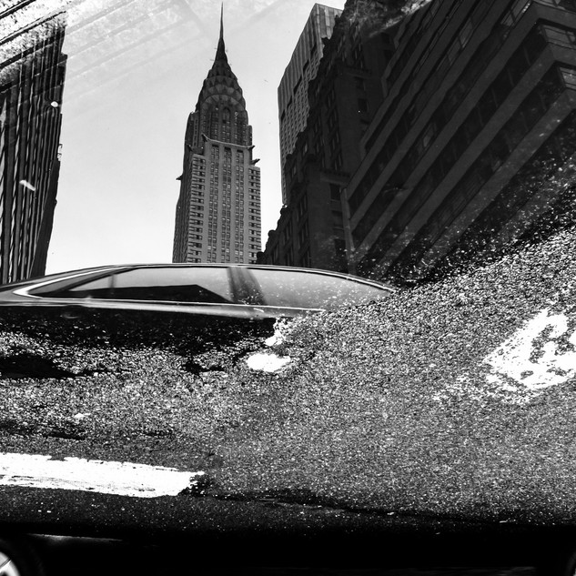 Chrysler Building Reflected